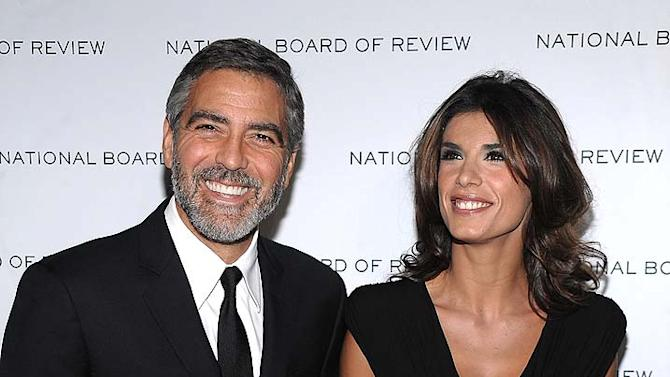 Clooney Canalis Motion Pictures Gala