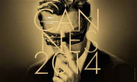 Handout photo of the official poster for the 67th Cannes Film Festival