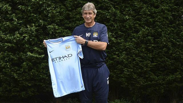 Premier League - Pellegrini targets title, lays down United gauntlet