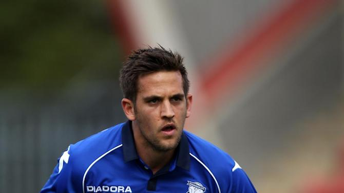Darren Carter was on trial at Birmingham in pre-season and played against Cheltenham in a friendly