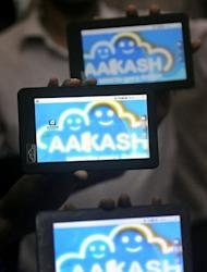 Makers of the tablet, Britain-based Datawind, say the Aakash 2 is powered by a processor that runs three times faster than the original, has a bigger touchscreen and a battery with a life of three hours