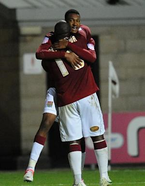 Henoc Mukendi grabbed the winner for Northampton