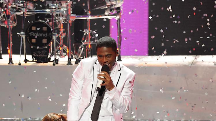 "Marcus Canty performs ""I'll Make Love to You"" by Boyz II Men on ""The X Factor."""