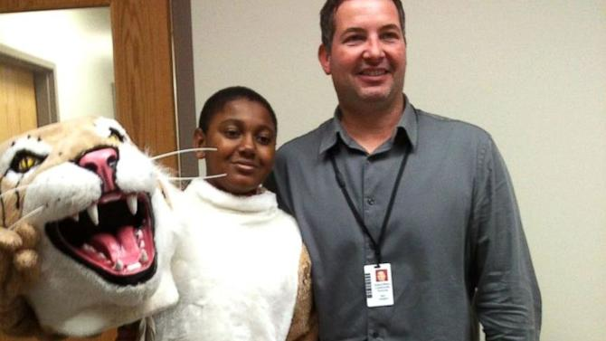 School Mascot Gig Helps Shy Autistic Middle Schooler Out of His Shell