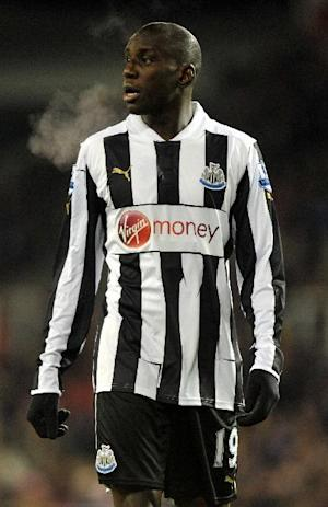 Demba Ba has yet to commit his future to Newcastle