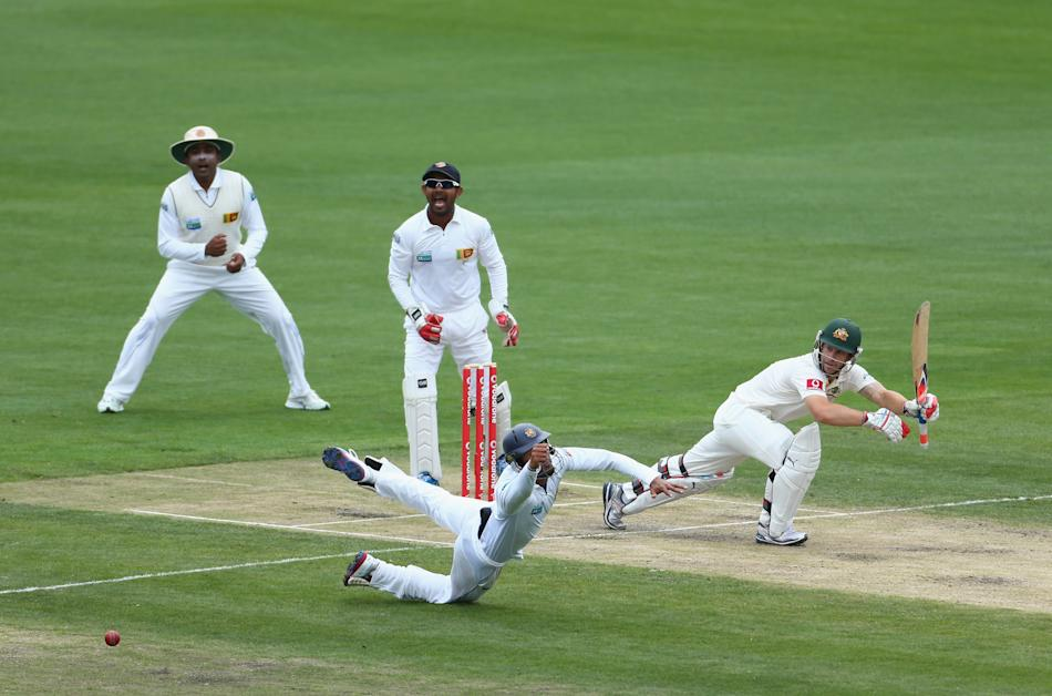 Australia v Sri Lanka - First Test: Day 2