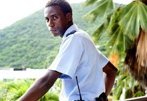 """Gary Carr in """"Death in Paradise"""" 