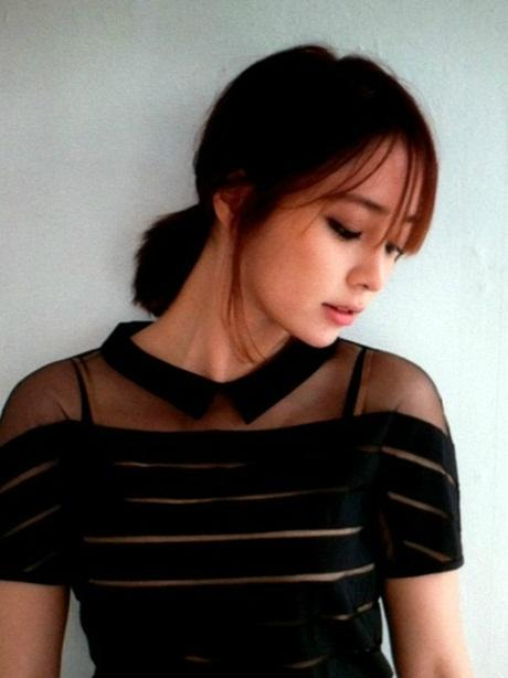Lee Min Jung reveals a recent photo of herself