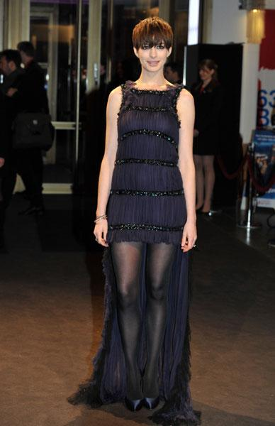 Anne Hathaway at the Les Miserables premiere in Berlin, Feb 2013 Image © Rex