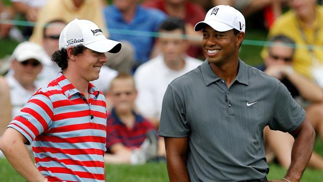 McIlroy and Woods clash on hold due to storms