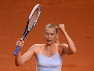 Sharapova survives Kerber onslaught