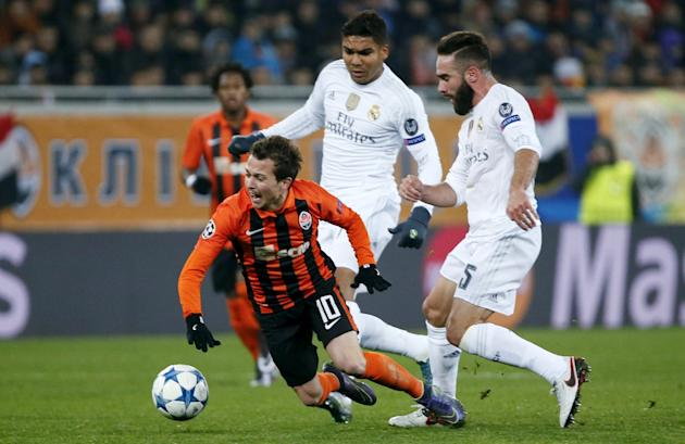 Shakhtar Donetsk v Real Madrid - Champions League Group Stage