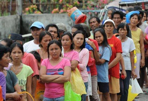 Police said 132,241 people evacuated overnight, during which the Philippines was rocked by 139 aftershocks
