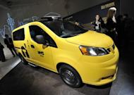 The Nissan NV200, New York's Taxi of Tomorrow is unveiled April 3, 2012 in New York. The NV200 will be the exclusive New York City taxi vehicle starting in 2013