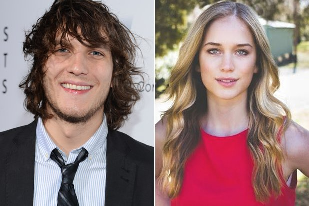 Scott Michael Foster and Elizabeth Lail