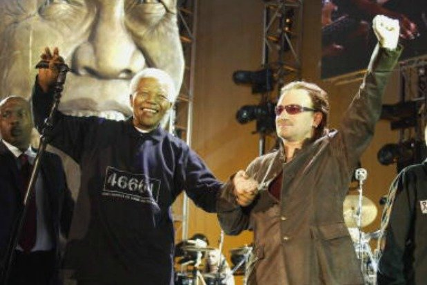 U2′s Bono Does His Nelson Mandela Impression (Audio)