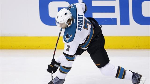 Ice Hockey - Sharks' Stuart suspended for hit on Nash