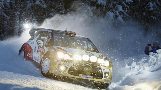 Sweden Rally - Ostberg fastest at Sweden shakedown