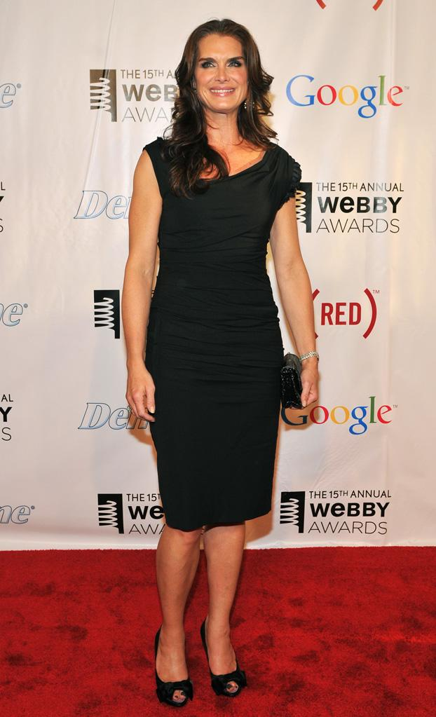 Brooke Shields Webby Awards