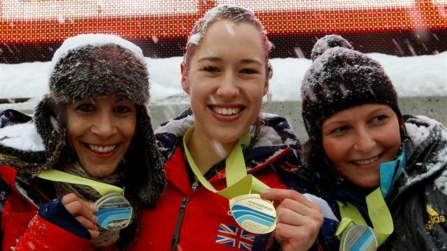 Skeleton - Yarnold heads British one-two in St Moritz