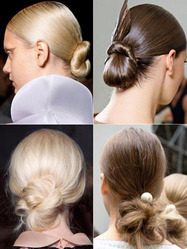 Tight Vs. Tousled Buns