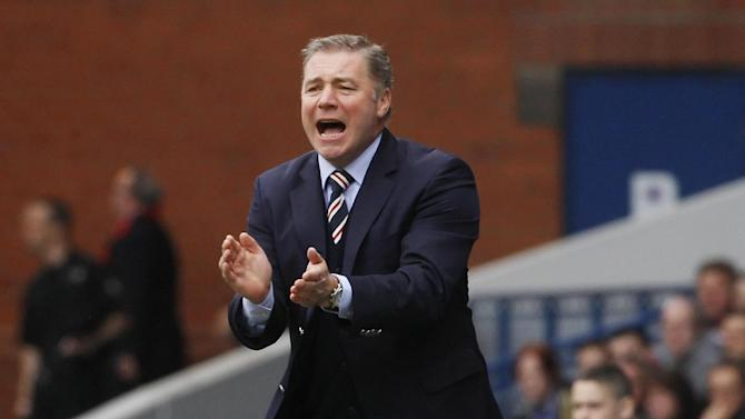 Ally McCoist says his side are the underdogs for the cup clash