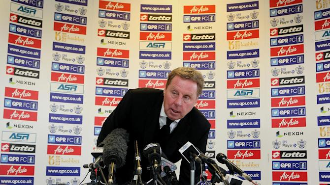 Harry Redknapp insisted he had to take a break following his stint with Tottenham