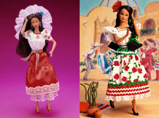 Mexico Barbie, 1989 and 1996