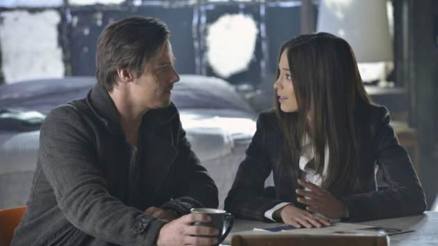 Jay Ryan as Vincent and Kristin Kreuk as Catherin in the 'Any Means Possible' episode of The CW's 'Beauty and The Beast' -- The CW