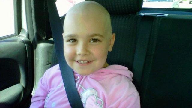 8-Year-Old Girl Battles Ovarian Cancer