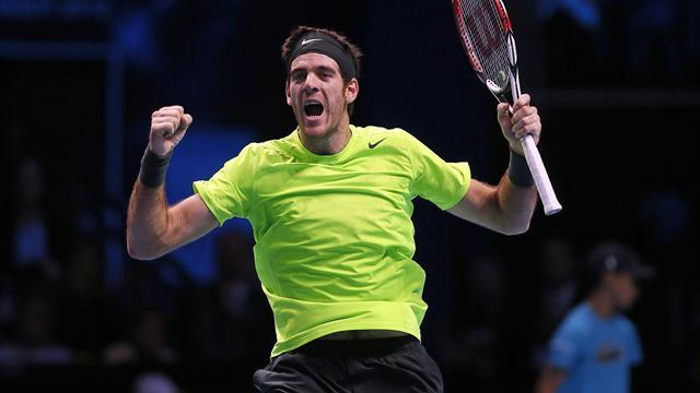 ATP World Tour Finals - Djokovic v Del Potro: LIVE