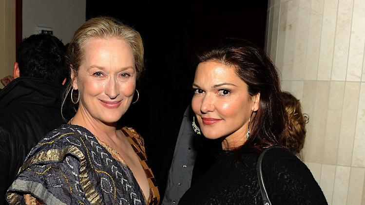 Fantastic Mr. Fox NY Premiere 2009 Meryl Streep Elena Harring