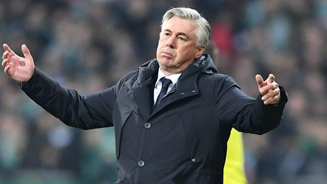 Ancelotti escapes punishment for middle finger