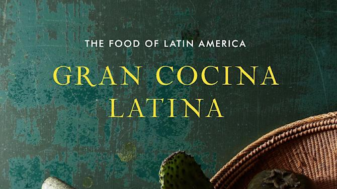 "This undated publicity photo provided by W.W. Norton shows the cover of Cuban-born chef Maricel E. Presilla's cookbook, ""Gran Cocina Latina."" The James Beard Foundation honored winners in media and publishing in New York on Friday, May 3, 2013. The cookbook of the year honor went to Presilla's massive ode to the food of Latin America, ""Gran Cocina Latina."" (AP Photo/W.W. Norton, File)"