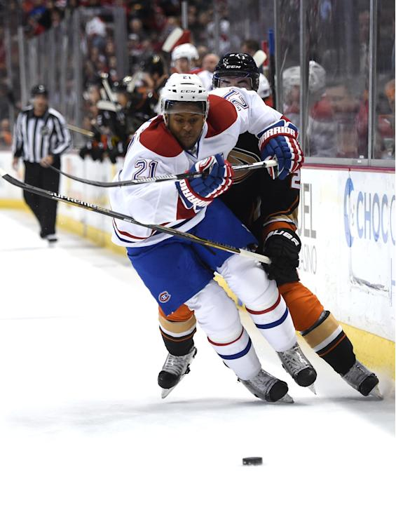 Montreal Canadiens v Anaheim Ducks