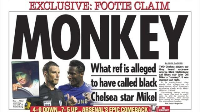 Premier League - Paper Round: What Clattenburg is alleged to have called Mikel