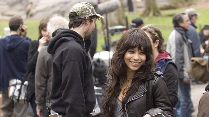 On the Set Gallery 2009 Zoe Kravitz