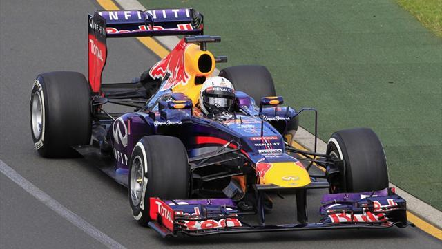 Formula 1 - Vettel tops first practice session