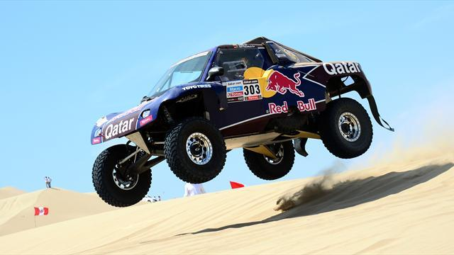 Dakar - Cars: Former champ Sainz takes early lead