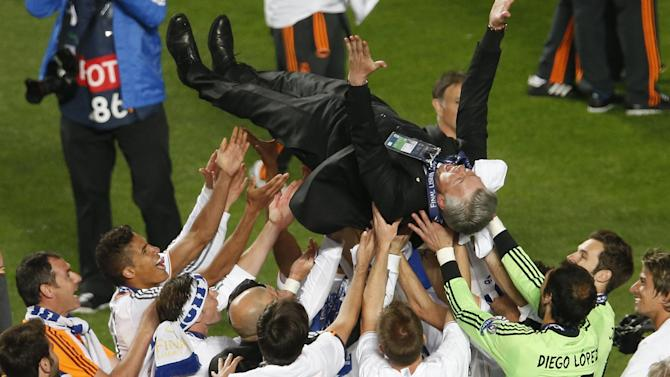 Champions League - Ancelotti trumps Simeone to secure Real's 10th title