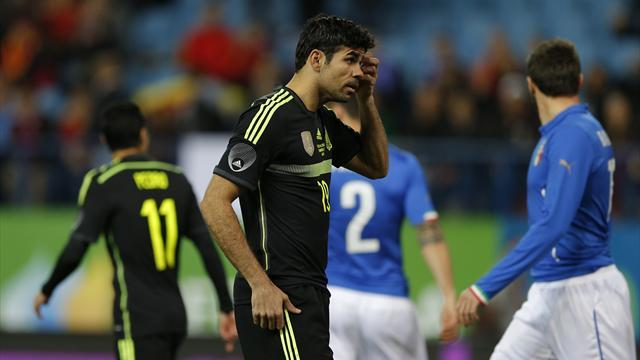 World Cup - Del Bosque backs Costa to improve for Spain