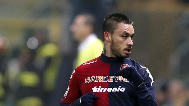 Serie A - Cagliari celebrate victory on return to home town