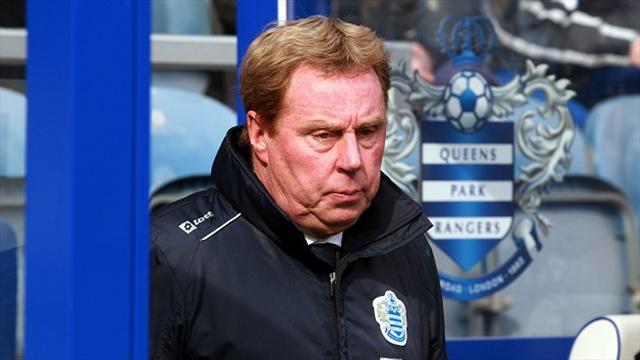 Football - QPR lacked ability - Redknapp