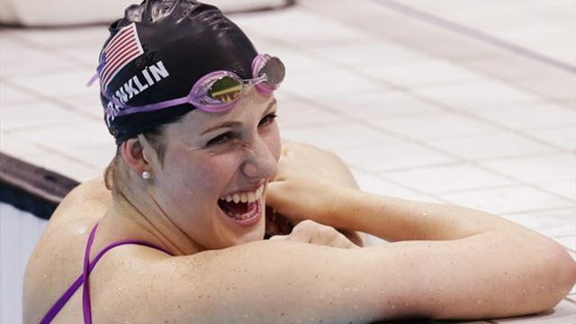 Swimming - Franklin gunning for fifth gold in 100 freestyle