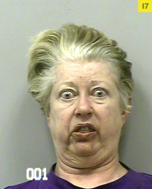 Funniest mug shots of the year