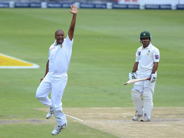 1st Test: South Africa v Pakistan - Day 2