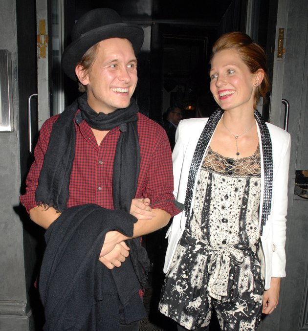 Mark Owen and wife Emma