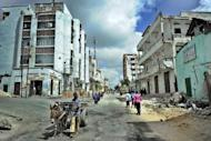 Residents walk through the Bakara market area of Somalia's embattled capital Mogadishu, in 2011. Somalia's war-ravaged capital Mogadishu will host Thursday its first ever TED talks as part of efforts to showcase improvements in development, business and security, organisers said