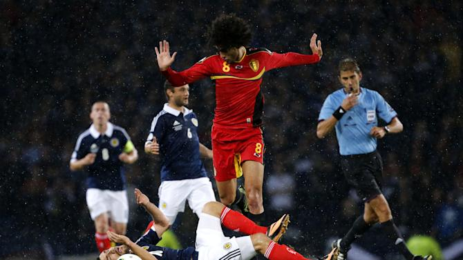 Soccer - FIFA World Cup Qualifying - Group A - Scotland v Belgium - Hampden Park