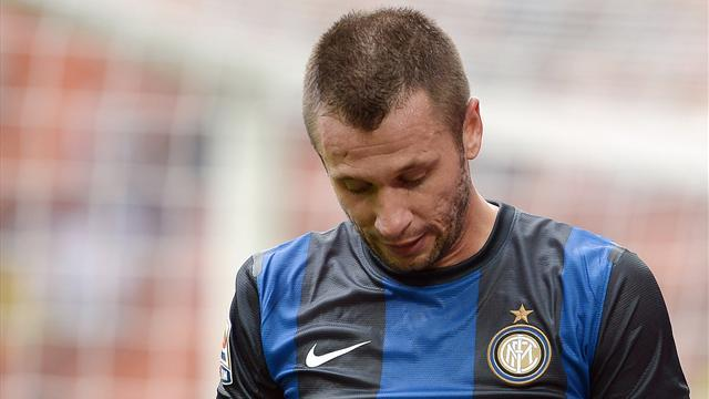 Cassano left out of Italy squad again